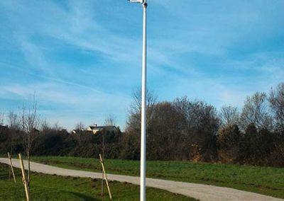 vidéosurveillance d'un parc de loisirs dans une ville près de Caen