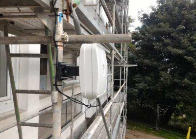 Installation d'une alarme de chantier à Cherbourg (50-Manche) en Normandie