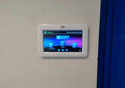 Installation d'un système de vidéosurveillance et d'une alarme pour un bâtiment industriel dans l'Orne en Normandie
