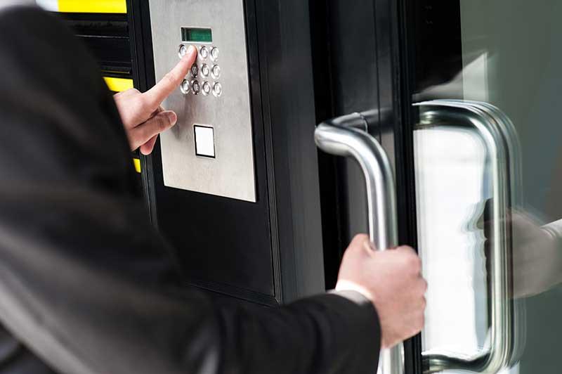 Contrôle d'accès - Porte clavier code - Caen (Calvados -14)