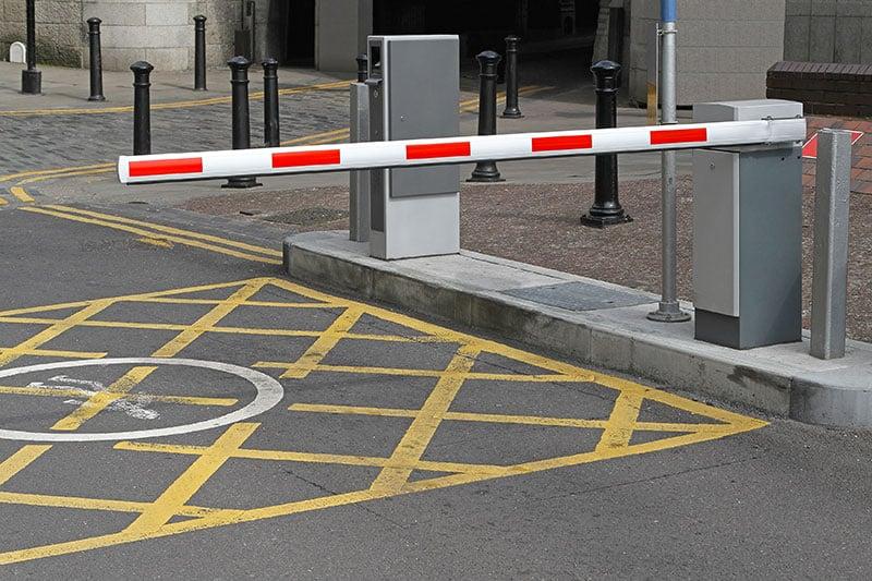 Contrôle d'accès - Barrière Levante- Caen (Calvados -14)