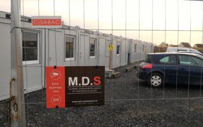Installation d'une alarme pour des bases de vie à Caen