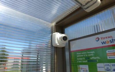 Installation d'un système de vidéosurveillance dans une station lavage à Coutances (50)