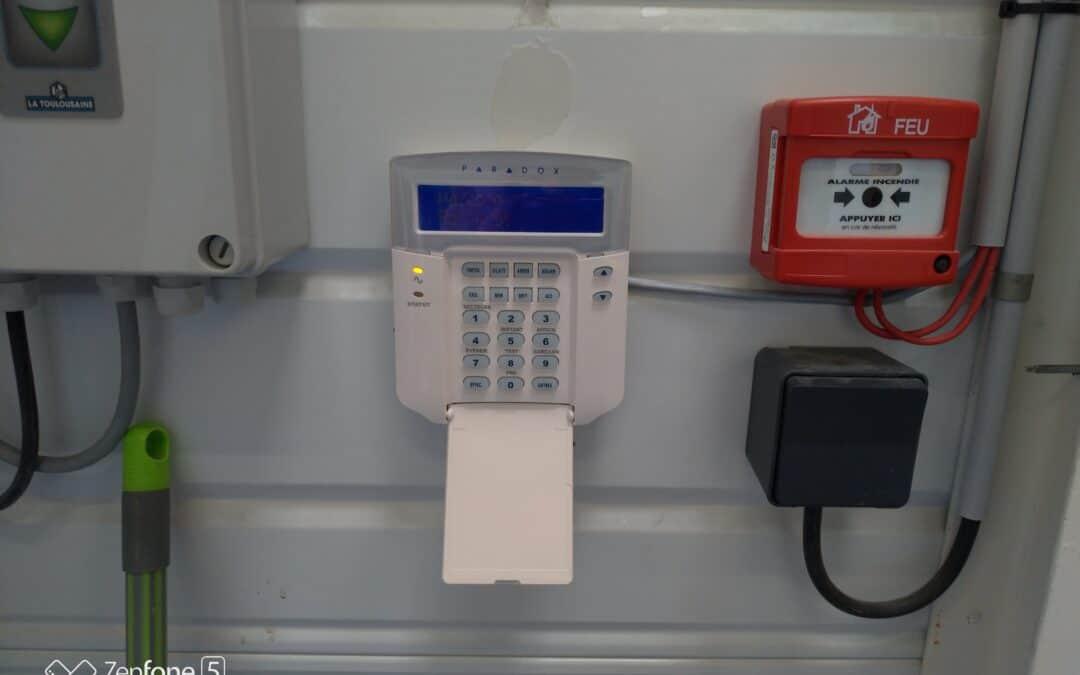 Installation d'une alarme pour un magasin alimentaire dans la communauté de CHERBOURG EN COTENTIN (50)