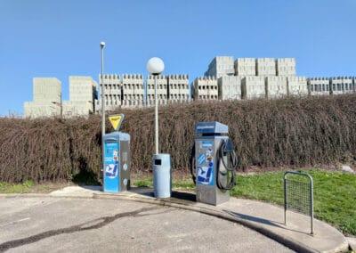 Installation système de vidéosurveillance stations lavage