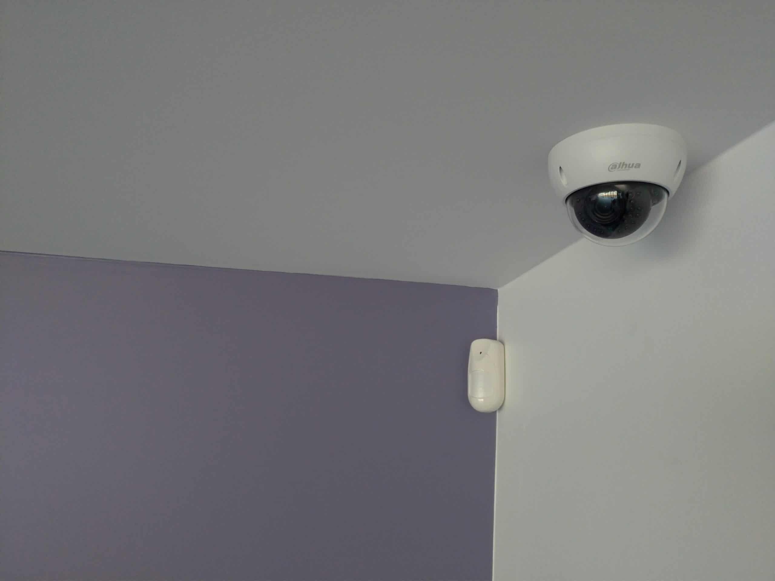 Installation système de surveillance pour médiathèque