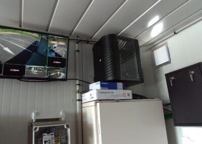 Installation de système de vidéosurveillance complet pour une station lavage