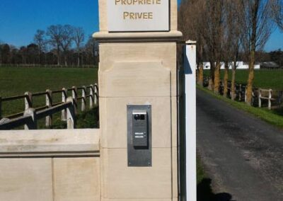 Installation de plusieurs contrôles d'accès dans un haras à Le Mollay-Littry (Calvados – 14)