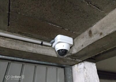 Installation d'un système de caméras de surveillance dans le parking d'une résidence à Deauville