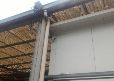 Système de caméras de surveillance plafond pour ce marché de gros de Soliers (Calvados – 14)