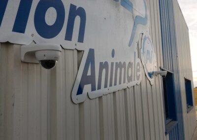 Installation alarme et videosurveillance-entreprise-nutrition animale argentan (orne)
